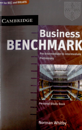 Книга на английском - BEC and BULATS. Cambridge: Business Benchmark Pre-intermediate to Intermediate Preliminary. Personal Study Book - обложка книги скачать бесплатно
