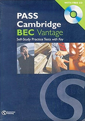 Книга на английском - Pass Cambridge BEC Vantage: Self-Study Practice Tests with Key - обложка книги скачать бесплатно