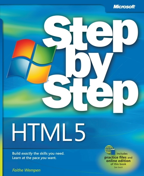 Книга на английском - HTML5 Step by Step: Build exactly the skills you need, Learn at the pace you want (Microsoft) - обложка книги скачать бесплатно