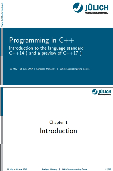 Книга на английском - Programming in C++: Introduction to the language standard C++14 (and a preview of C++17 ) - обложка книги скачать бесплатно