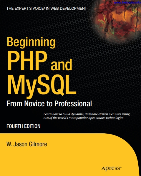 Книга на английском - Beginning PHP and MySQL: From Novice to Professional (Fourth Edition) - обложка книги скачать бесплатно