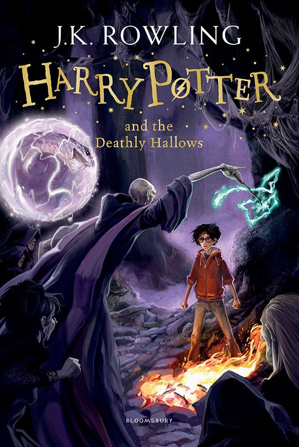Книга на английском - Harry Potter, Book 7 of 7: Harry Potter and the Deathly Hallows by Joanne K. Rowling - обложка книги скачать бесплатно
