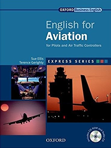 Книга на английском - Oxford English for Industries: English for Aviation - for Pilots and Air Traffic Controllers (Business English) - обложка книги скачать бесплатно